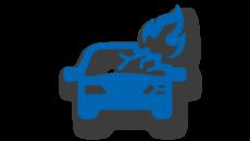 Тотальная гибель авто